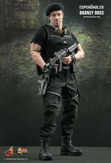 Hot Toys Expendables Barney Ross Collectors Edition MMS 138