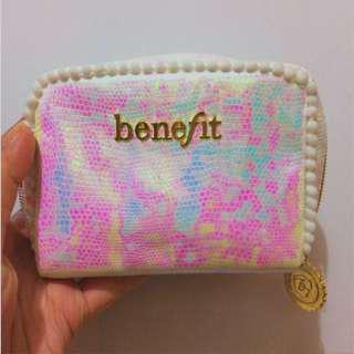 BENEFIT 'Pink I Love You' Makeup Pouch