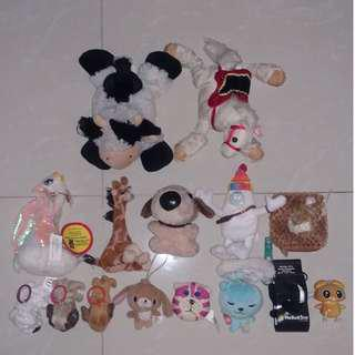 Small Plushie Collection + Mepple