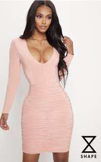 PLT Peach Dress