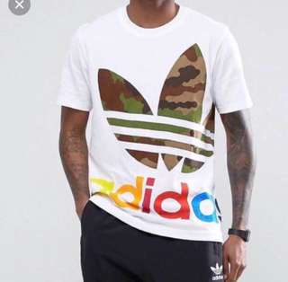 Adidas Originals Block It Out Camo Top
