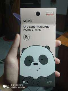 OIL CONTROLLING PORE PACK/PORE STRIPS