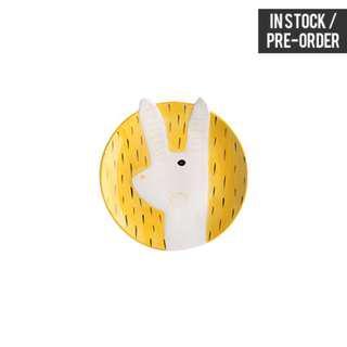 [Instock / PO] Rabbit Yellow Plate