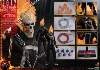 Hot Toys Toy Fair Exclusive 2017 Marvel Agents of SHIELD - Ghost Rider
