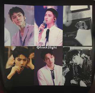 EXO OFFICIAL - EXO PLANET #3 THE EXORDIUM DOT in SEOUL OFFICIAL POSTCARD