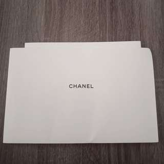 Chanel booklet