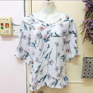 [new] floral top
