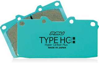 Project MU HC+ Rear Brake Pads for STI Brembo 4/2
