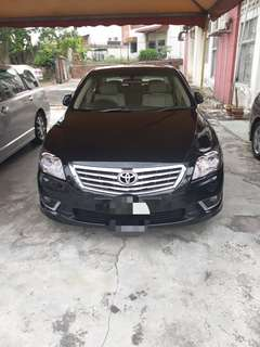 Toyota Camry 2.0A Gspec