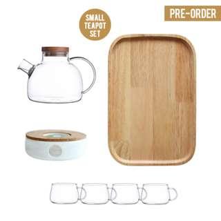 [PO] Japanese Style Small Glass Teapot Set