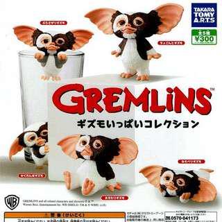 小魔怪 扭蛋 杯緣子 GREMLiNS グレムリンギズモ collection sets