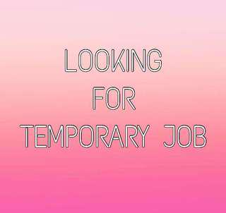 temporary job looking for carousell singapore