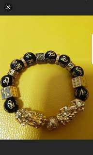 Gold Plated Pixiu Bracelet