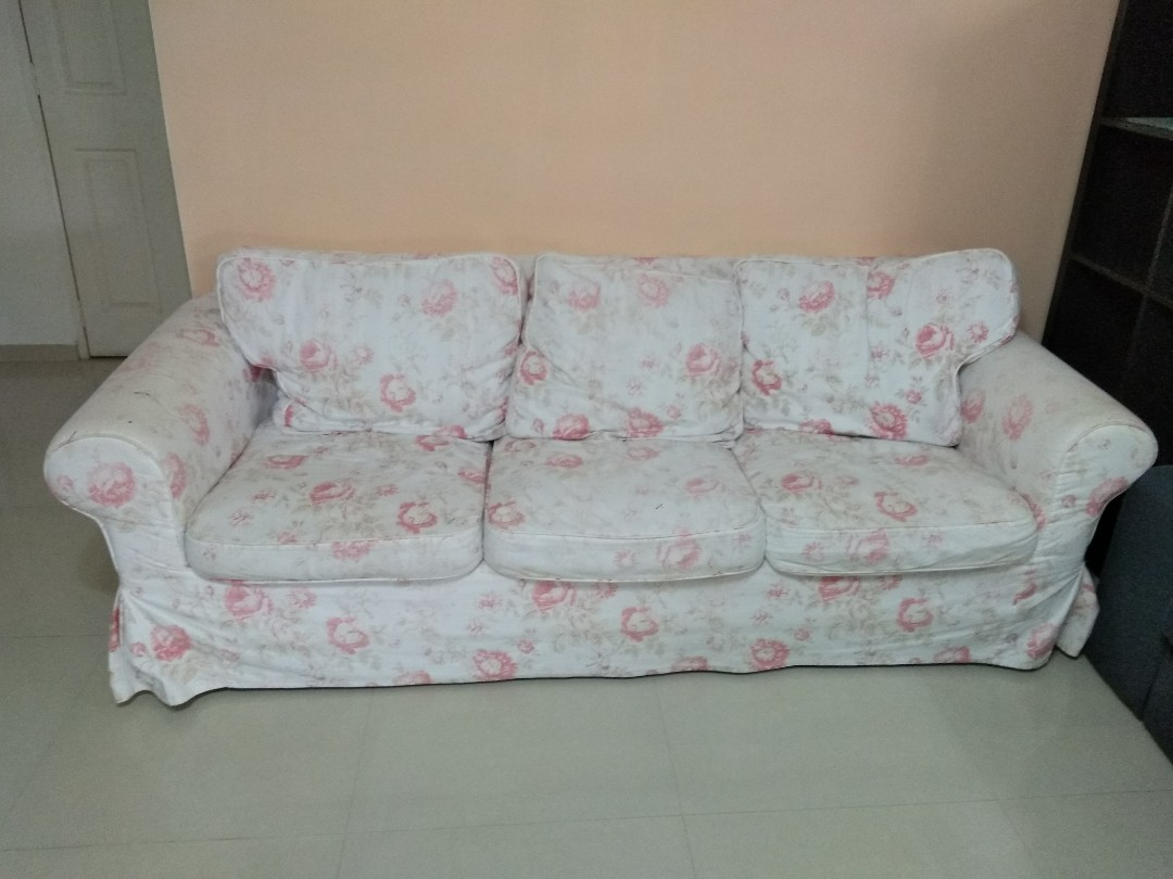 3 Seaters Ikea Ektorp Sofa