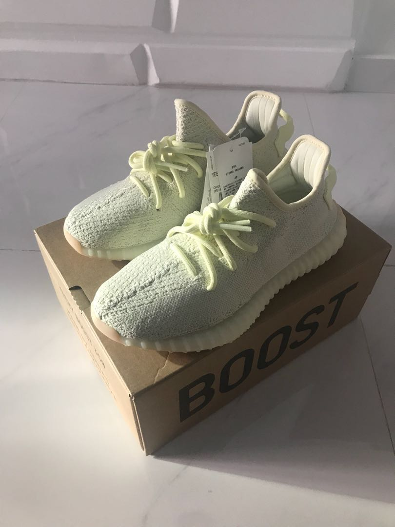 official photos 37bc2 5f11e us9.5 Adidas yeezy boost 350 v2 butter