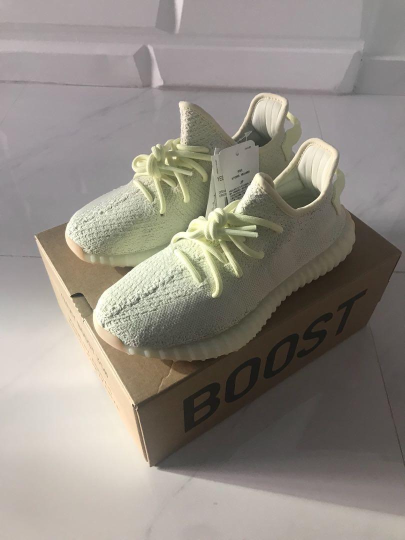 official photos d643e 0d07f us9.5 Adidas yeezy boost 350 v2 butter