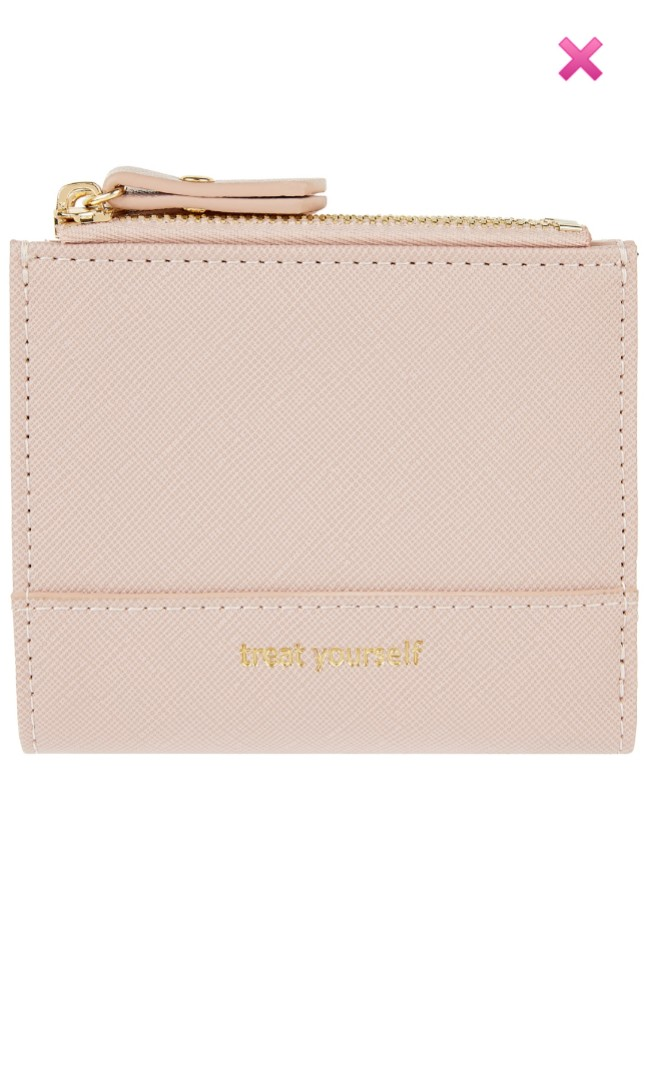 Accessorise Treat Yourself Wallet - dusty pink 38eb73186