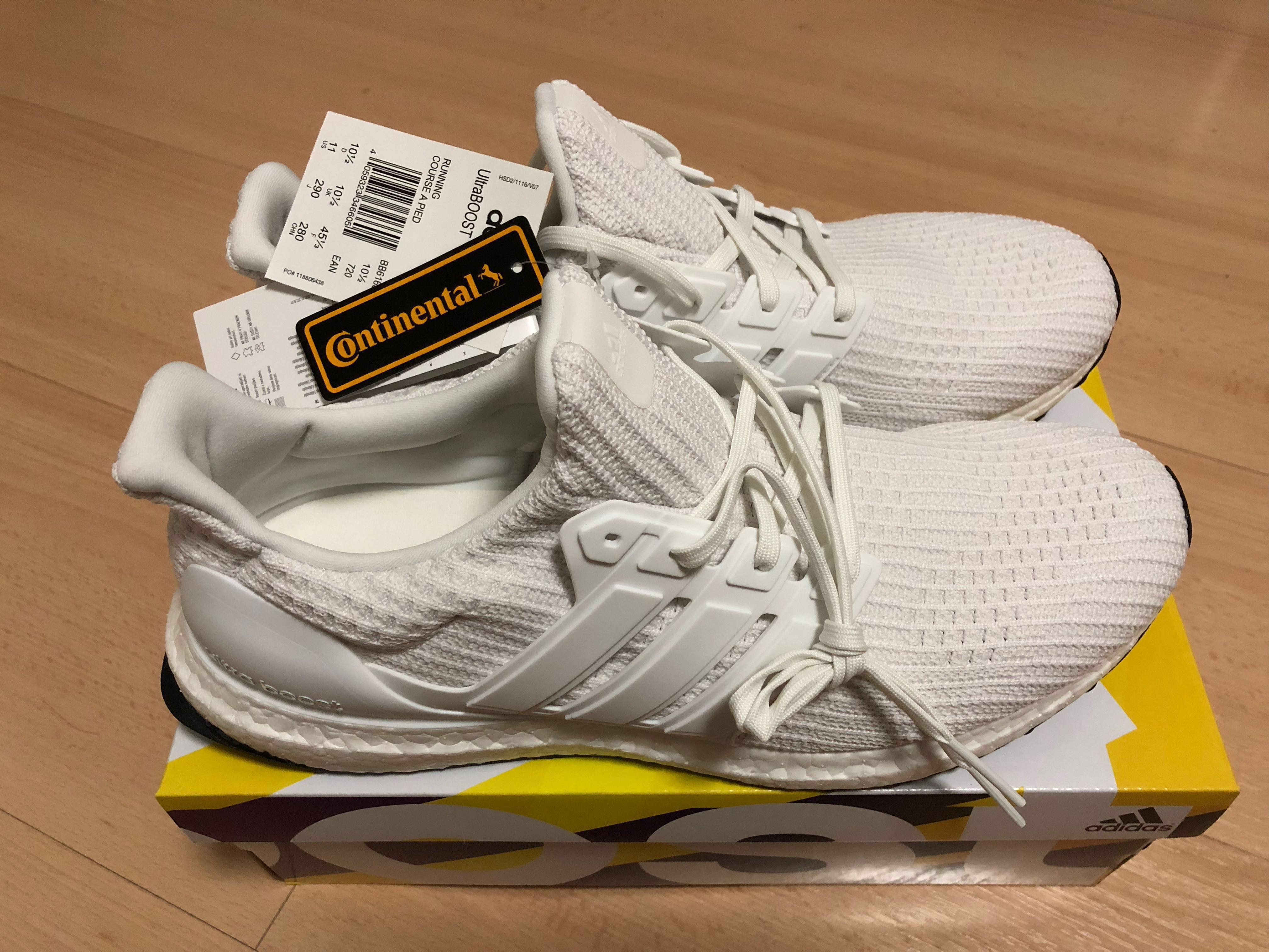 037b4e6d9 Adidas Ultra Boost 4.0 Triple White