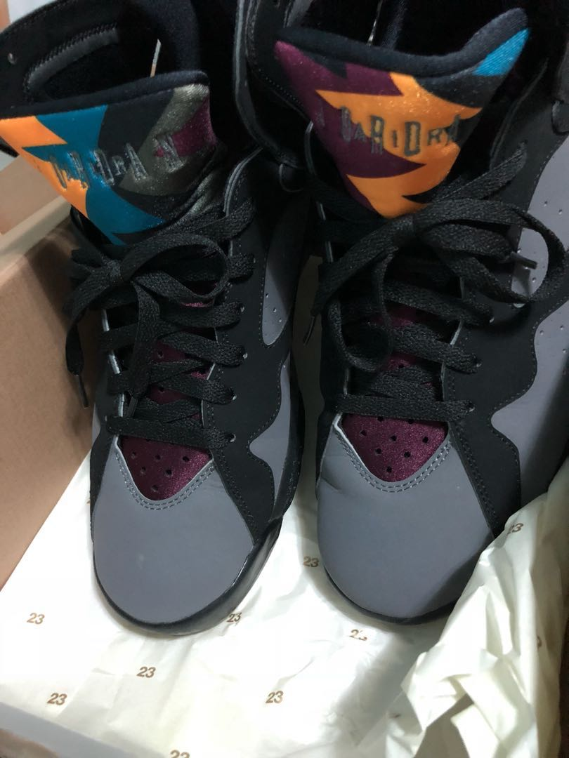 the best attitude fd3a4 09e74 Air Jordan 7 Retro Bordeaux us10.5, Men s Fashion, Footwear ...