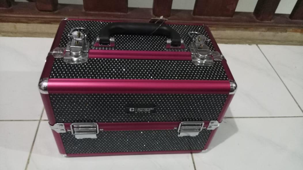 FLASH SALE Uppp. Hari niii 24jam jual murrahhh!!!!Beauty case ARMANDO CARUSO BEAUTY CASE NEW