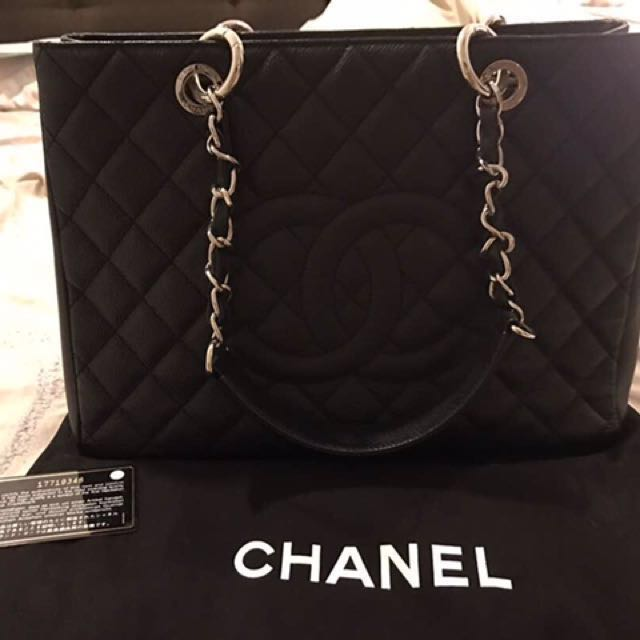 b4cd0fccf750 AUTHENTIC PRE-LOVED CHANEL GST FOR SALES