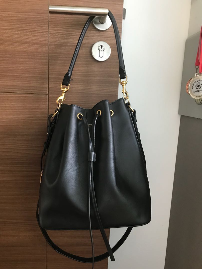 Authentic Ysl Bucket Bag Women S Fashion Bags Wallets Sling On Carou