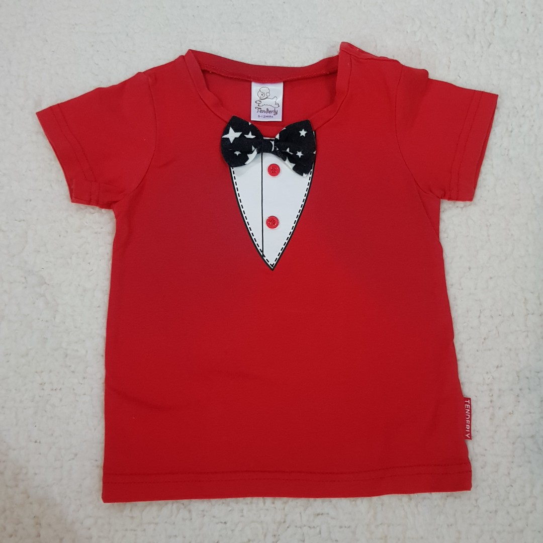 51a05035517f Baby Gentleman Red T Shirt