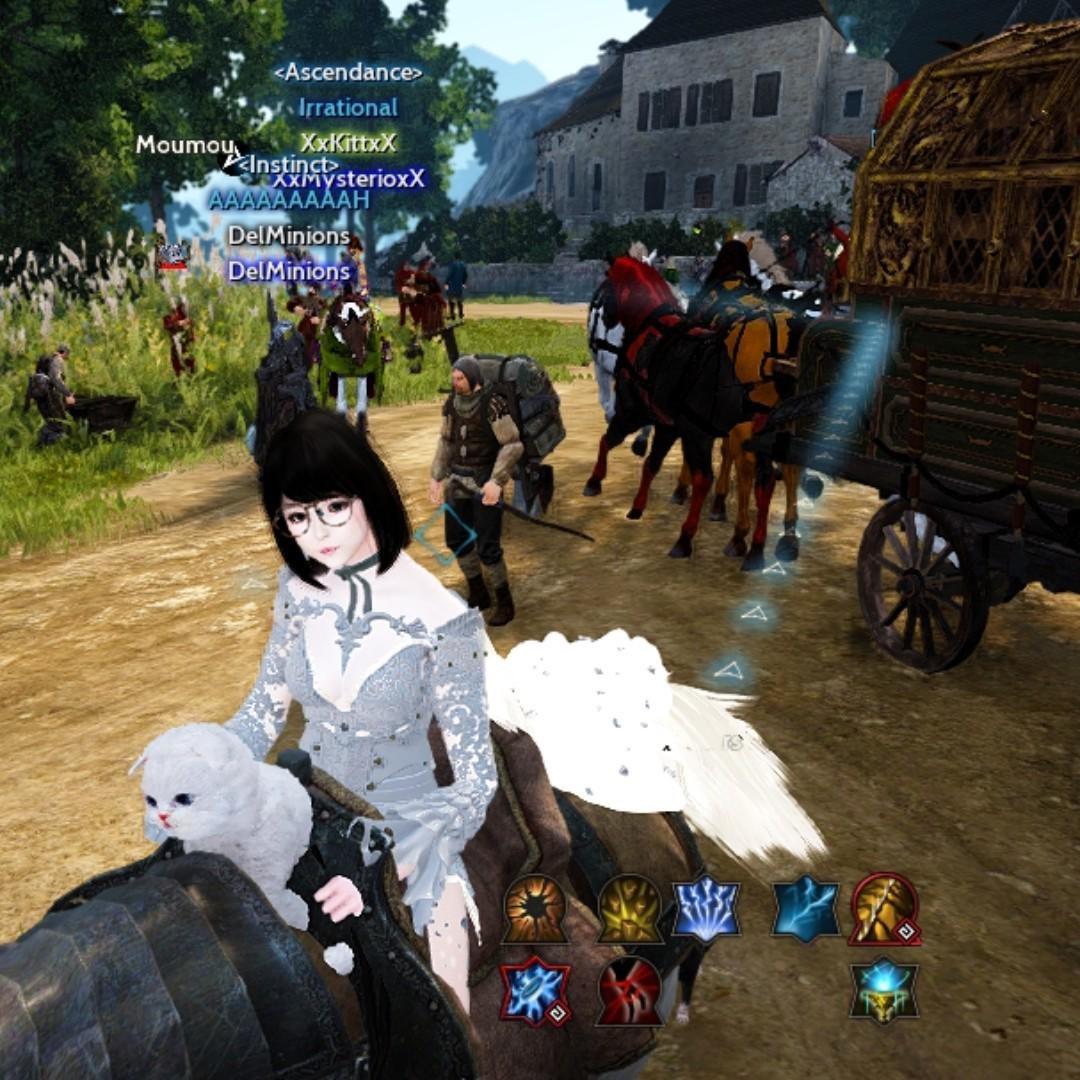 BDO (SEA) WITCH GS536 TRIOGRE LIFESKILL SEAMONSTER READY
