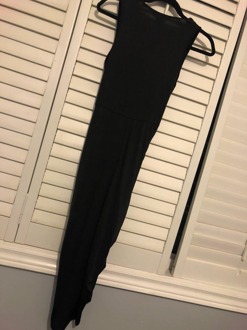 Black cocktail / going out dress