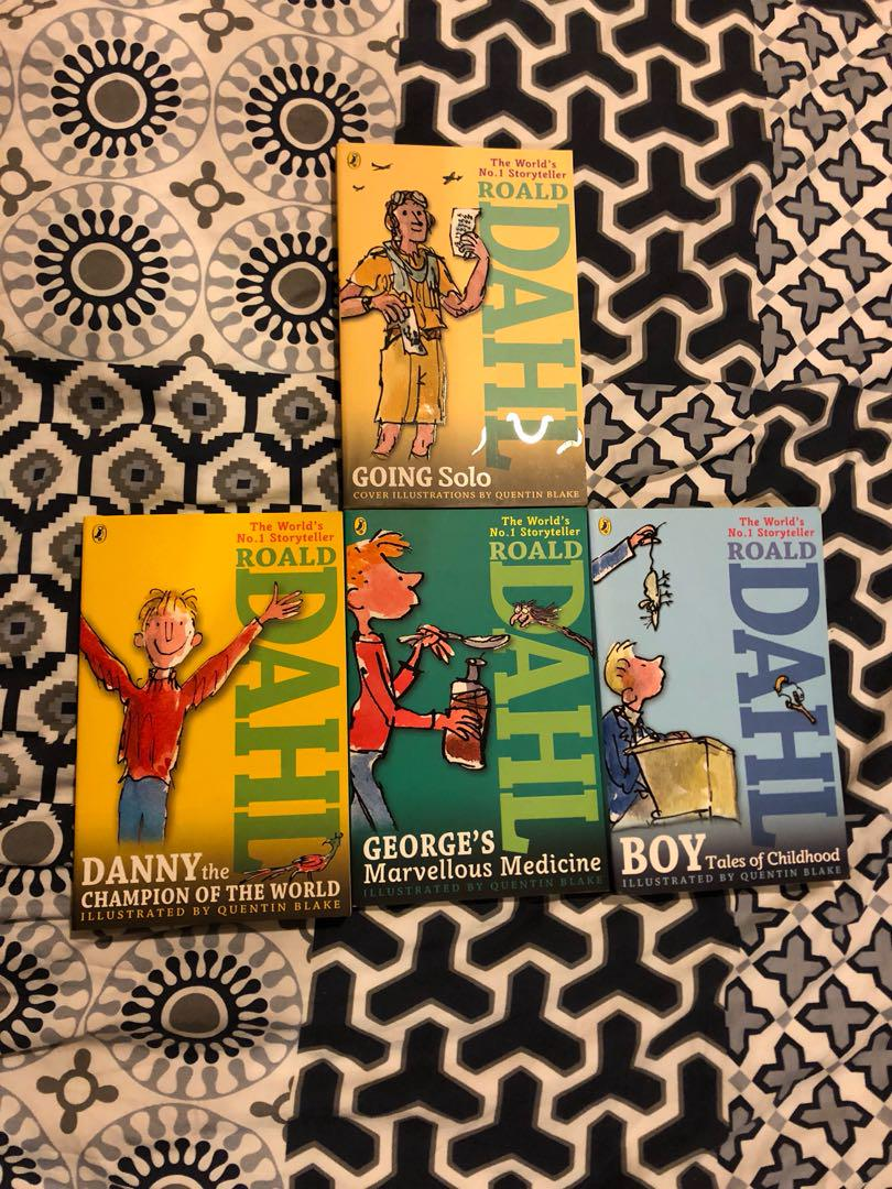 Books by Roald Dahl