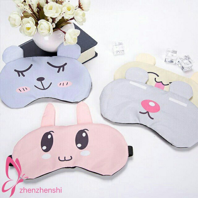Cooling Eye Mask Sleep Eye Mask With Removable Gel