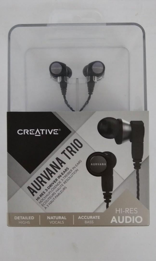 b7528be736b Creative Aurvana Trio Audiophile In ears, Electronics, Audio on ...