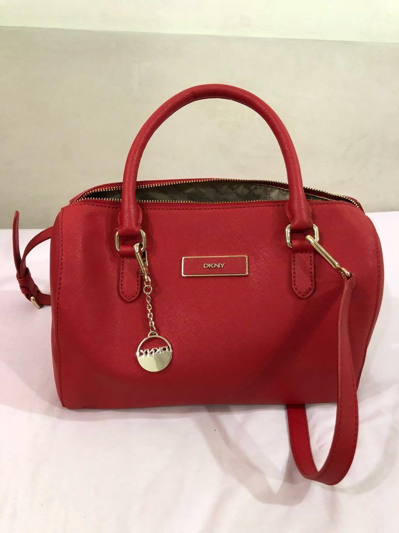 Dkny Red Bag Original Women S Fashion Bags Wallets Handbags On Carou