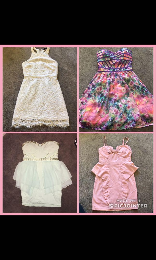 Dresses for sale all in good condition size 8-10's