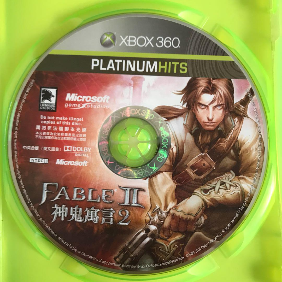 Fable II Xbox 360 Game, Toys & Games, Video Gaming, Video