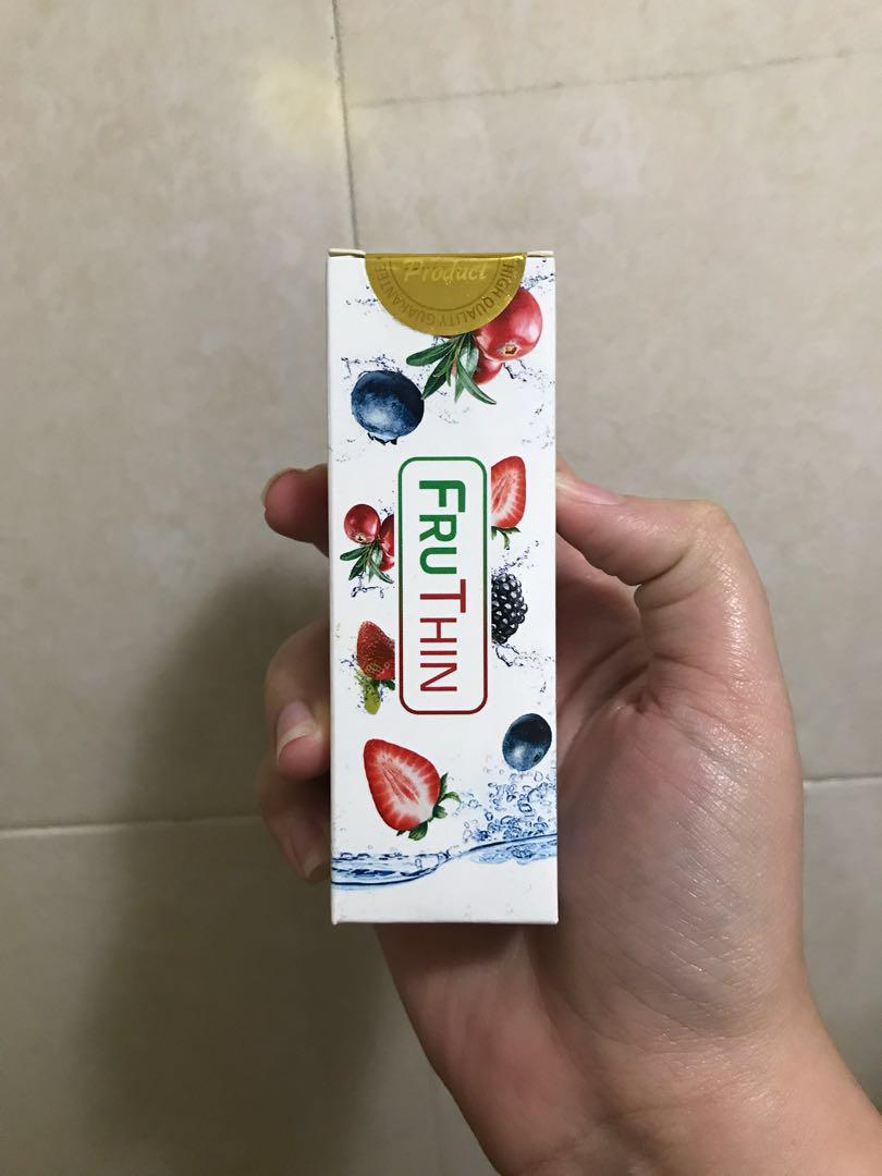 Fruthin Weight Loss Dissolving Tablets On Carousell