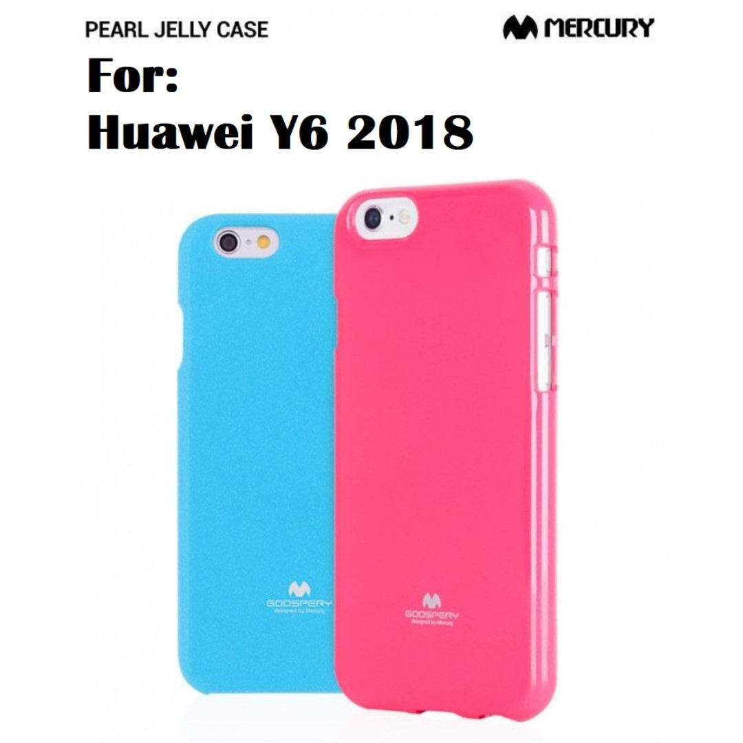 Goospery Huawei Y6 2018 Jelly Case Authentic Mobiles Tablets Iphone X Soft Feeling Black Mobile Tablet Accessories On Carousell