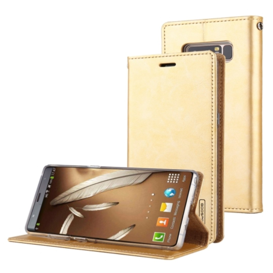Goospery Samsung Note 8 Blue Moon Flip Case Authentic Mobiles Iphone X Brown Share This Listing