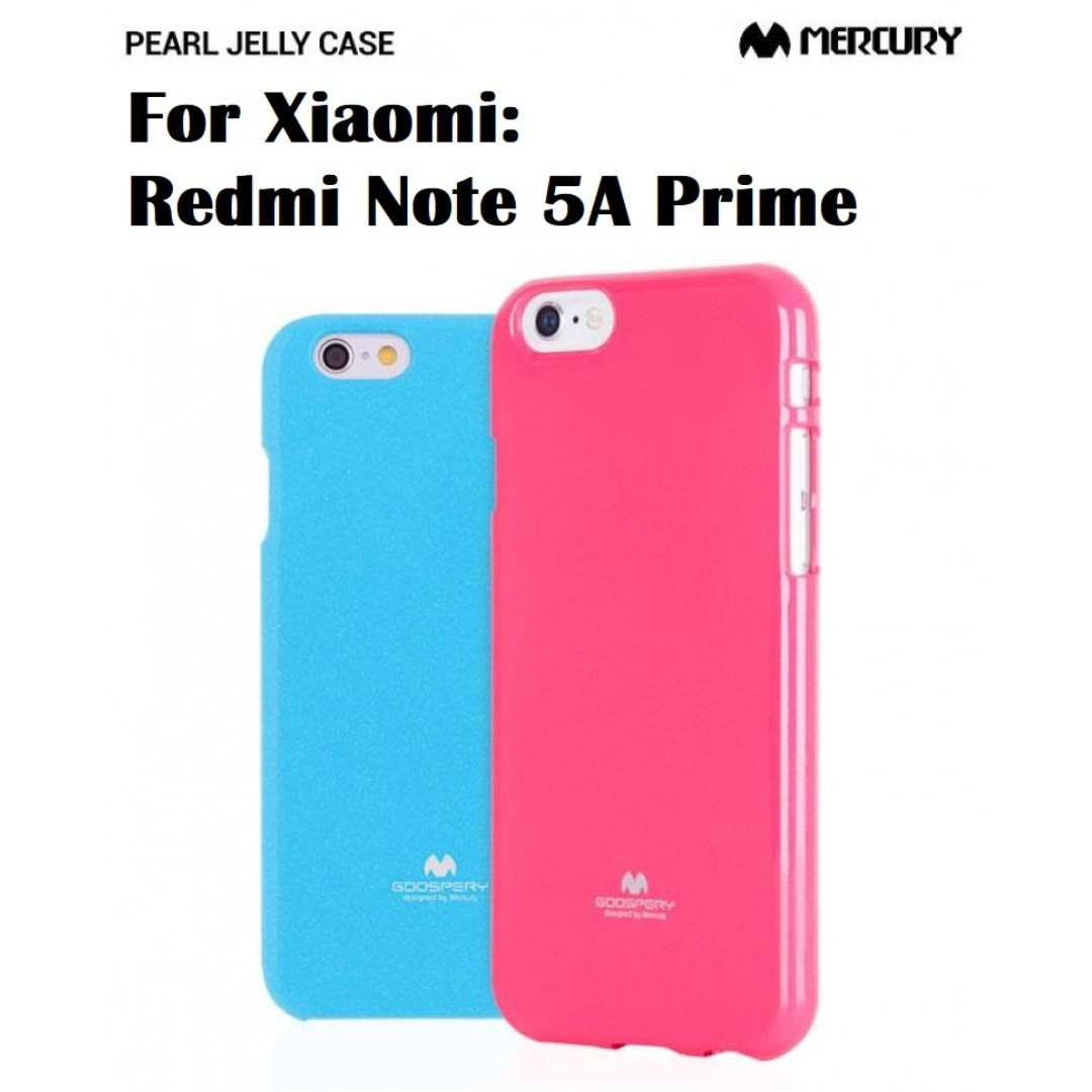 Goospery Xiaomi Redmi Note 5a Prime Jelly Case Authentic Mobile Iphone 8 Plus Pearl Pink Phones Tablets Tablet Accessories On Carousell