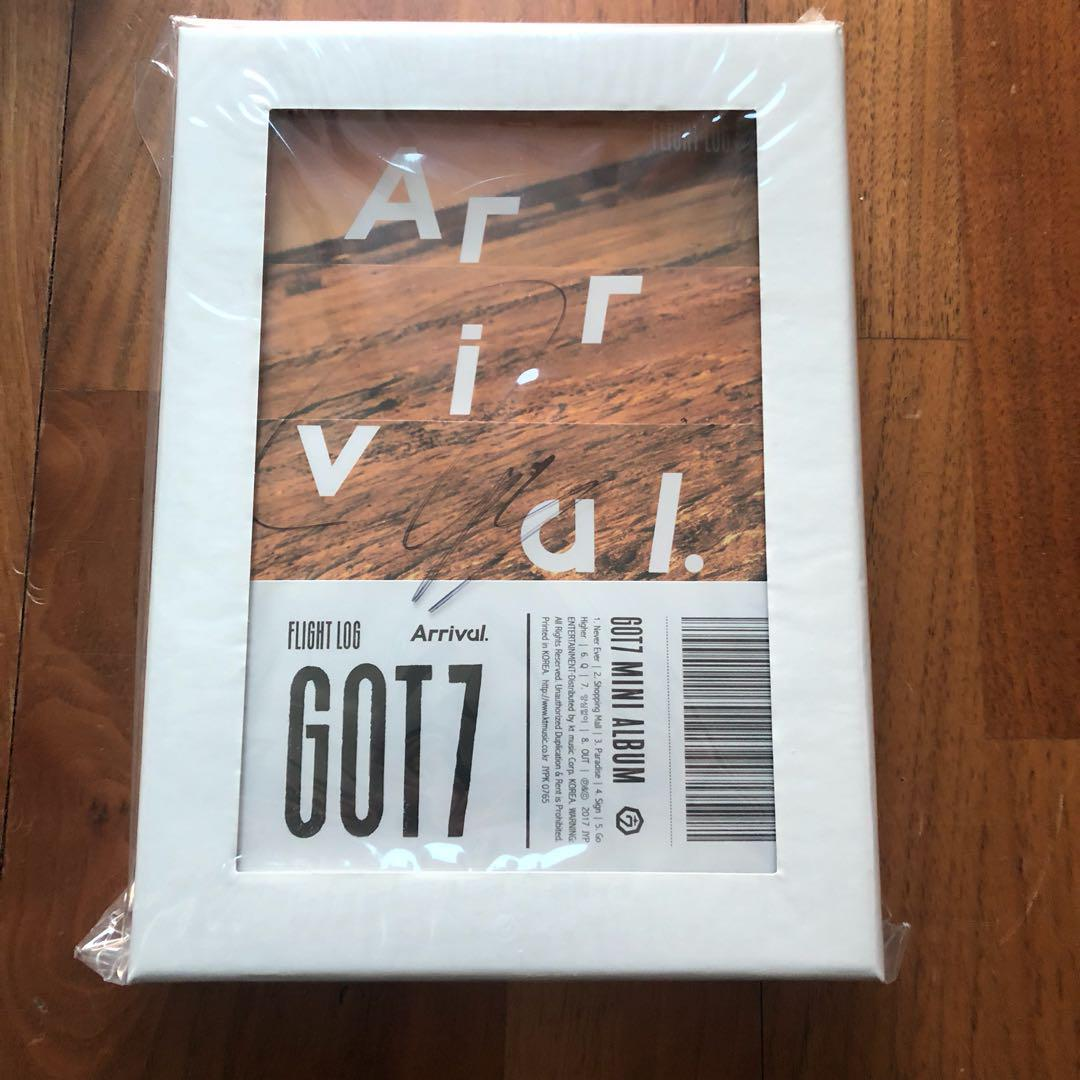 GOT7 Mwave BamBam Signed Arrival Album