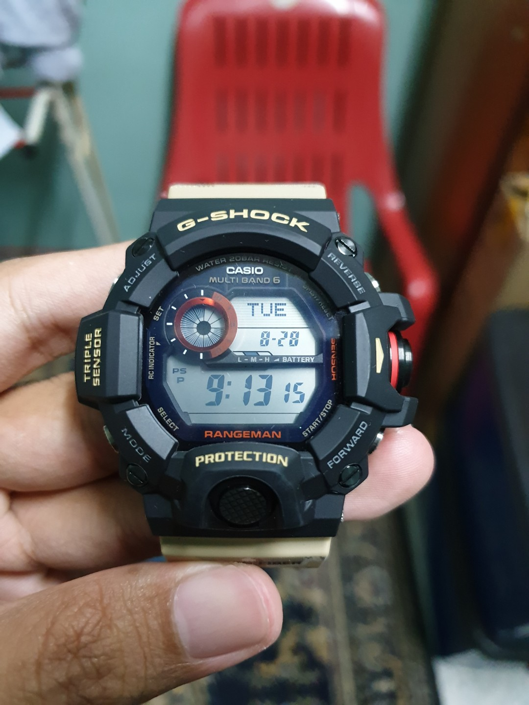 Gshock G Shock Gw9400dcj Gw 9400dcj Mens Fashion Watches On Carousell Casio 1