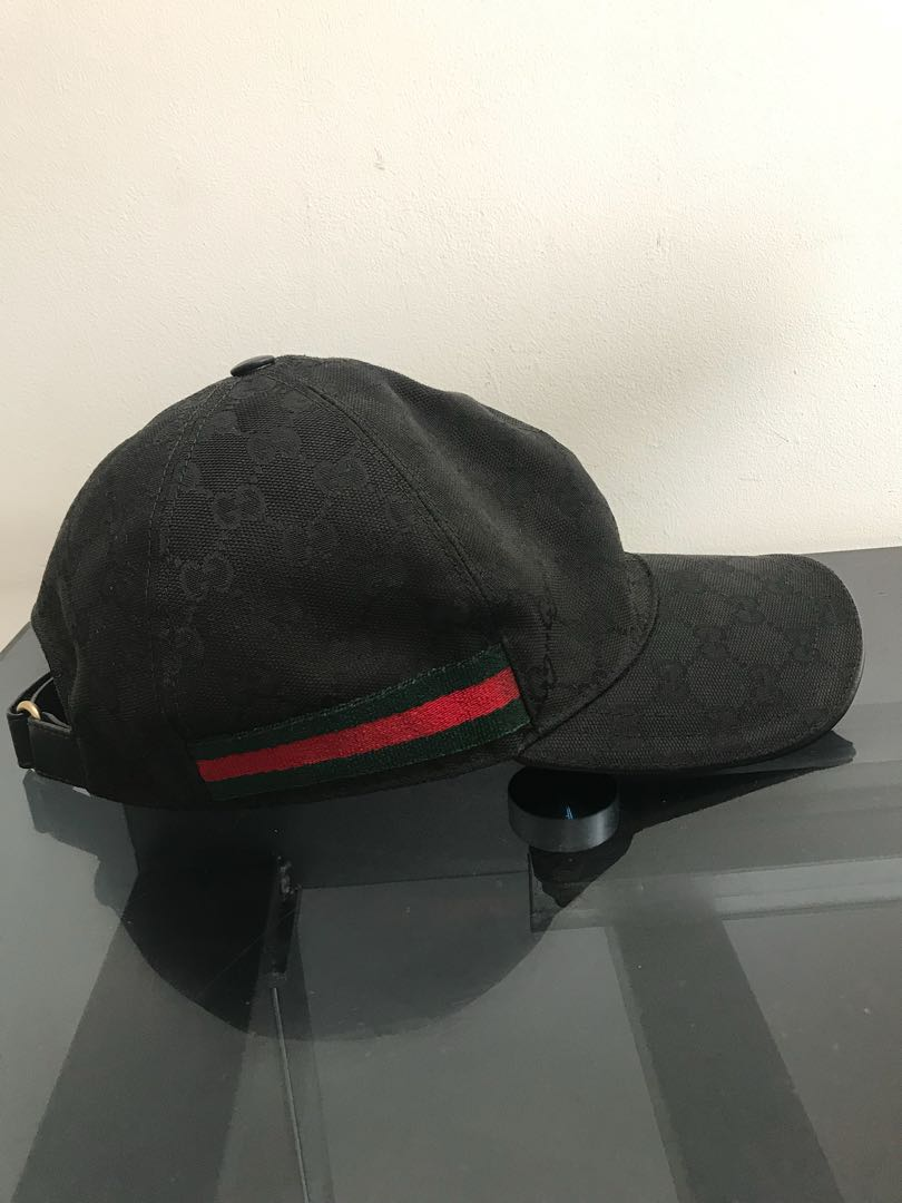 3e174a599f3 Gucci Caps Black