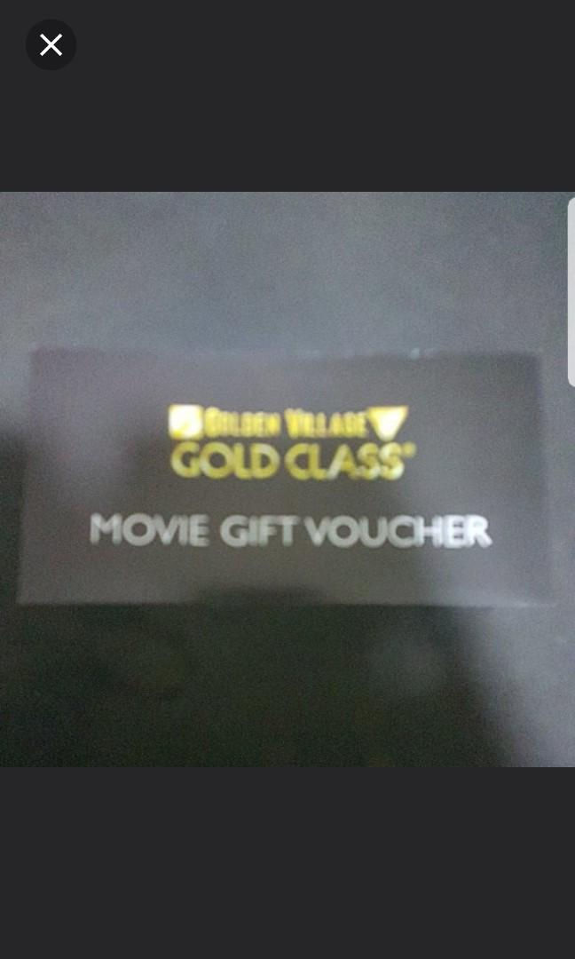 GV Gold Class Ticket (A Pair)