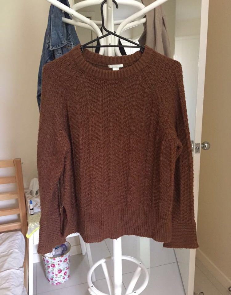 H&M knit jumper M // Princess Polly // Glassons // City Beach // Kookai