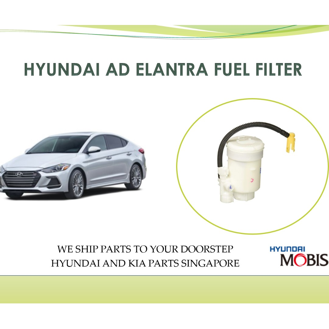 Hyundai Elantra Spare Parts Singapore 2012 Fuel Filter Ad Car Accessories On