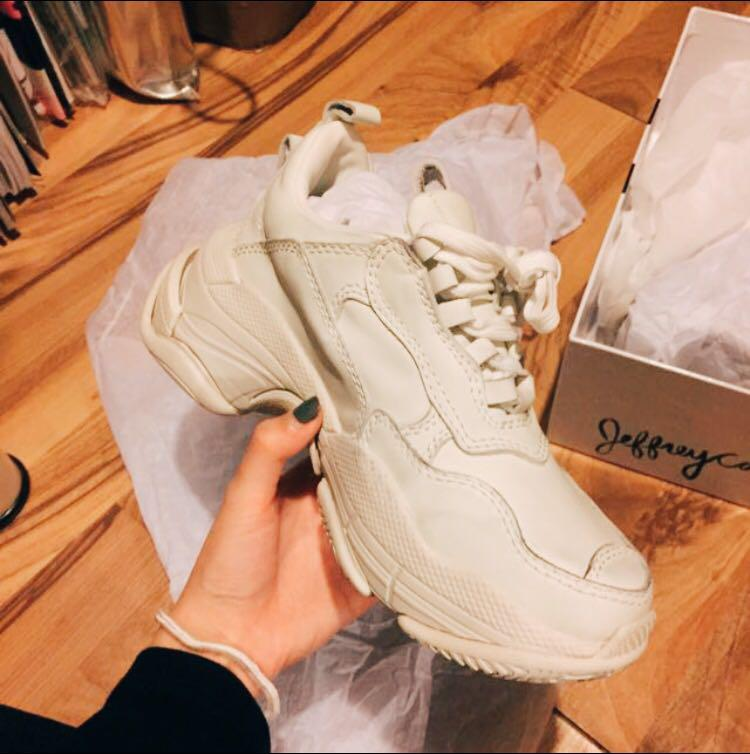 Jeffrey Campbell Off-White Lo-Fi