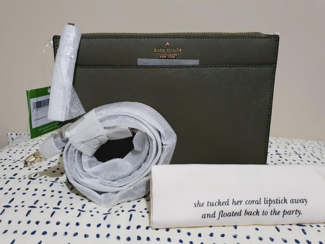 Kate Spade Cameron Street Clarise Bag - Olive BNWT- GENUINE
