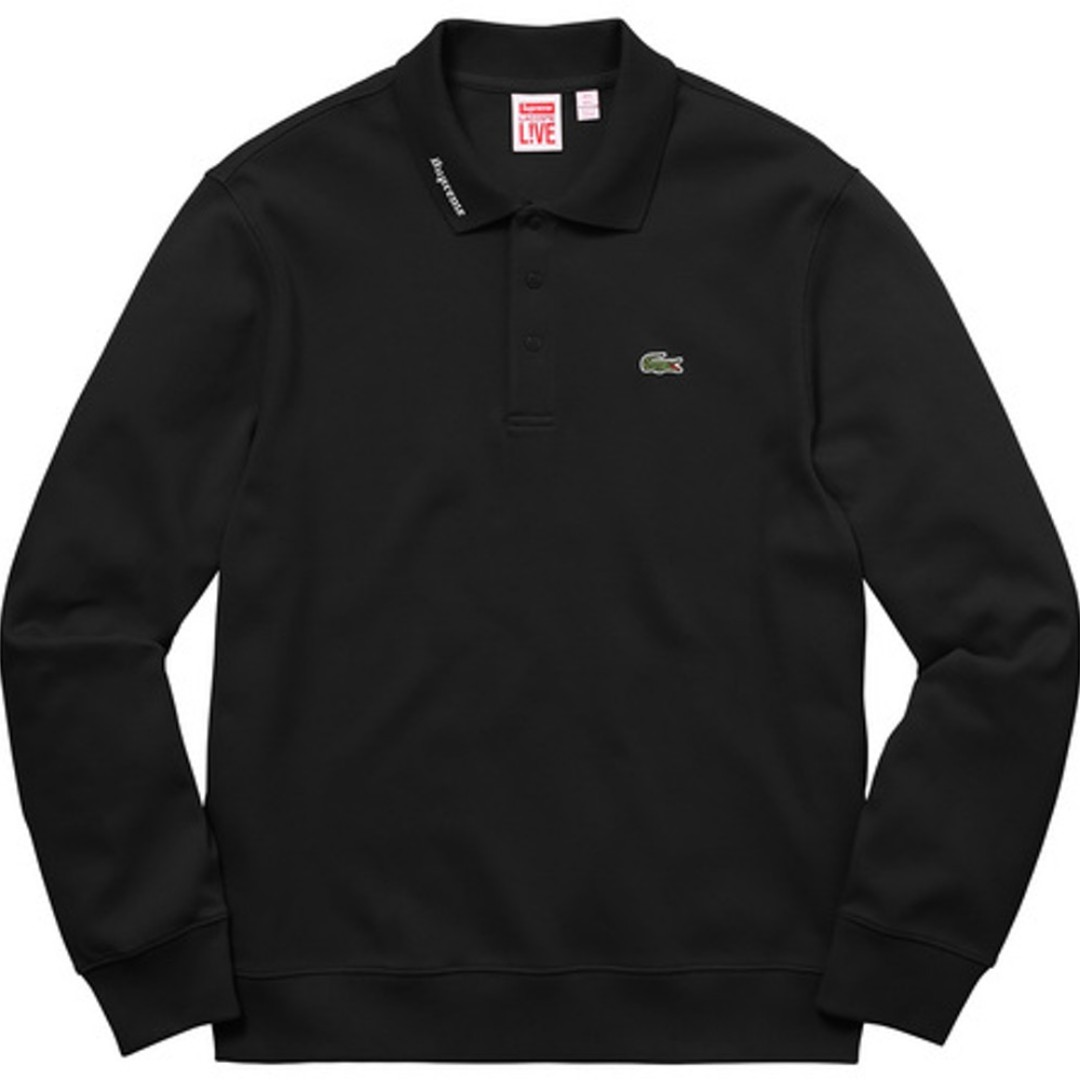 d5b5adff5482 Lacoste Supreme Long Sleeve Jersey Polo (Black), Men's Fashion, Clothes,  Tops on Carousell