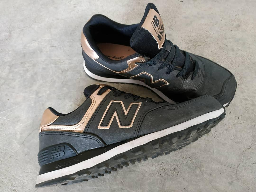 new balance 574 rose gold limited edition