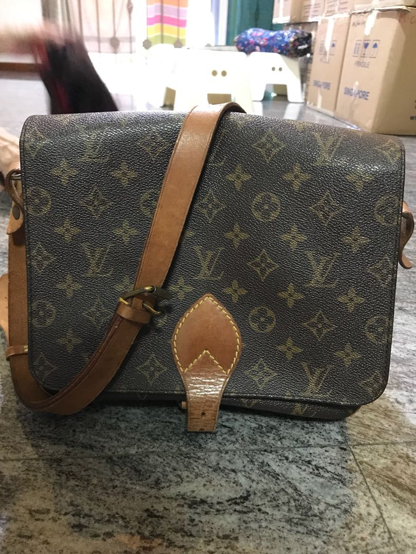 Louis Vuitton Sling Bag Luxury Bags Wallets On Carousell Ysl Woc 19 Cm Nude Ghw Photo